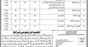 Energy Department For Non-Technical Staff Government jobs